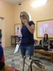 "OOPS!  A TEACHER BREAKING THE ""NO JEANS"" RULE!!"
